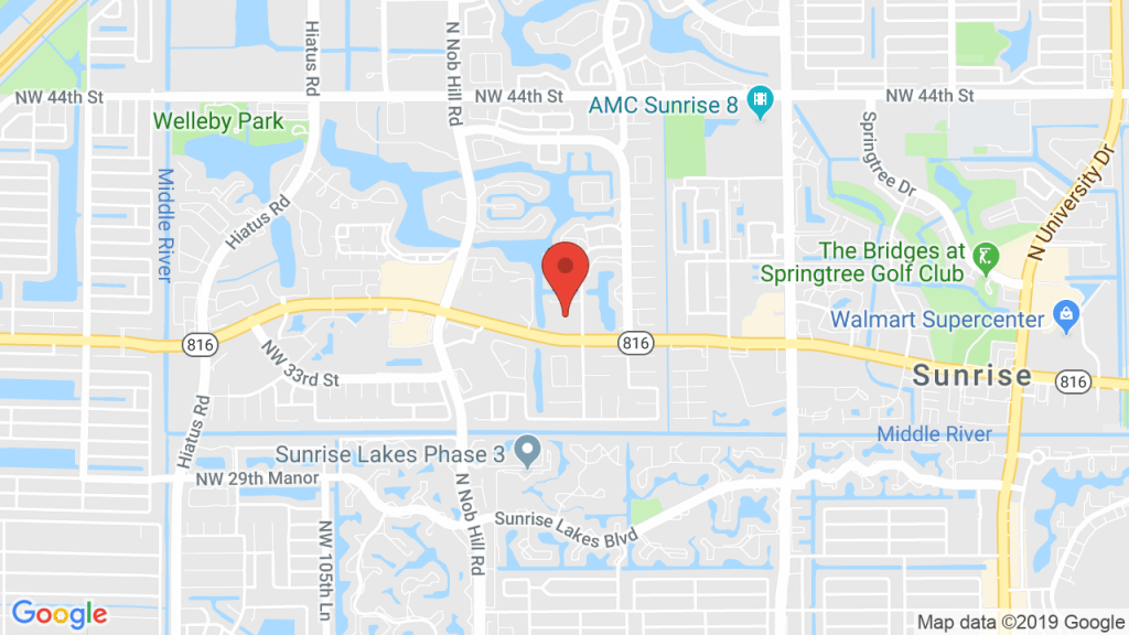 Sunrise Tennis Club In Sunrise, Fl - Concerts, Tickets, Map, Directions - Oakland Park Florida Map