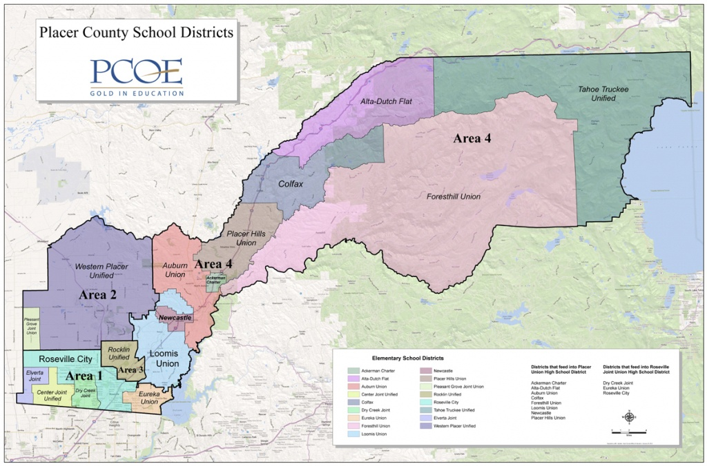 Superintendent's Office - District Map - California School Districts Map