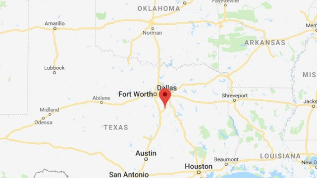 Suspect In Custody After School Shooting In Italy, Texas - Italy Texas Map