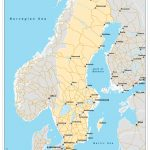 Sweden Maps | Printable Maps Of Sweden For Download   Printable Map Of Sweden
