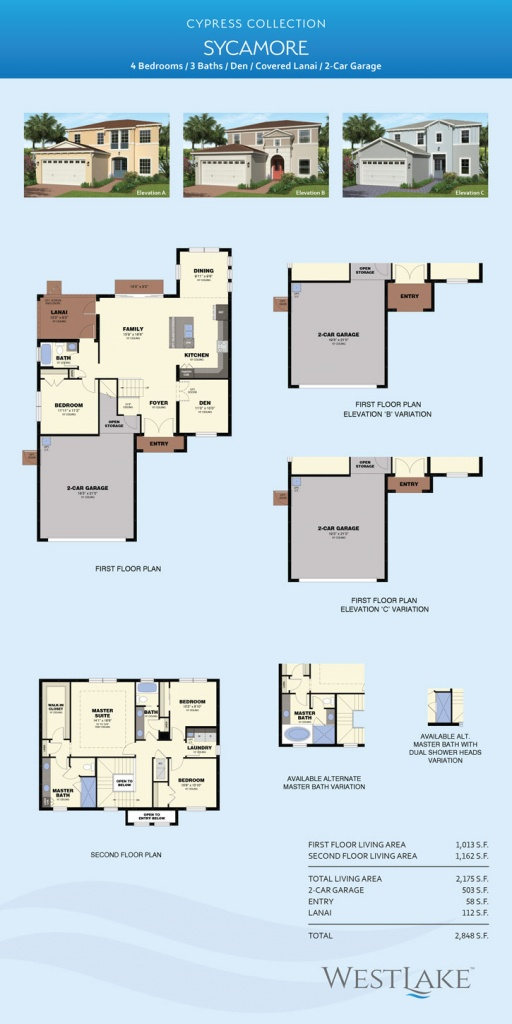 Sycamore Model Home - Palm Beach, Fl | Minto - Westlake Florida Map