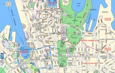 Sydney Attractions Map Pdf   Free Printable Tourist Map Sydney   Printable Map Of Sydney