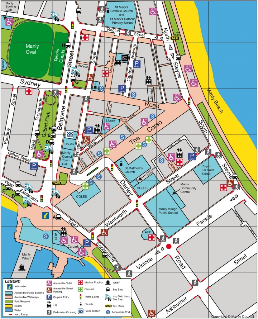 Sydney Maps | Australia | Maps Of Sydney - Sydney City Map Printable