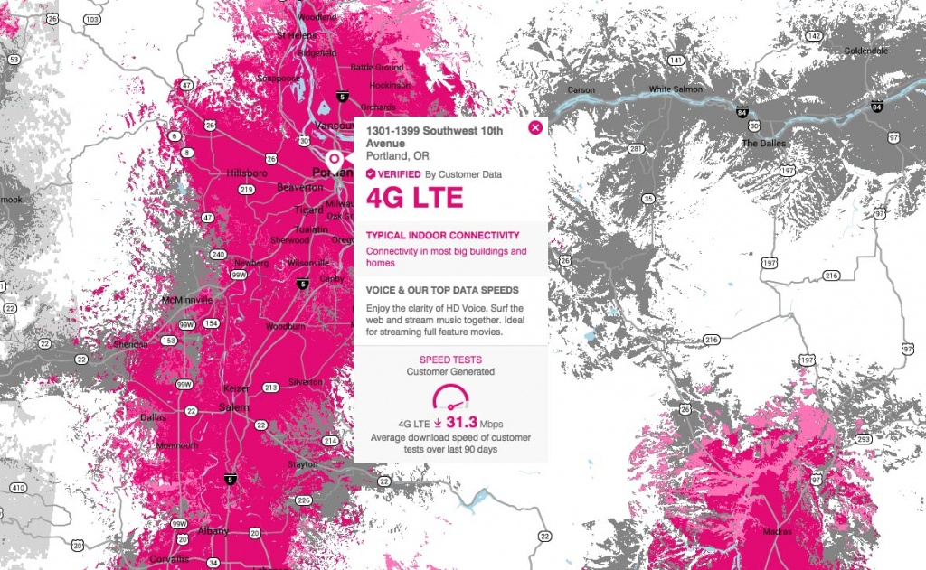 T-Mobile Introduces Crowd-Sourced Coverage Map – Droid Life - T Mobile Coverage Map In California
