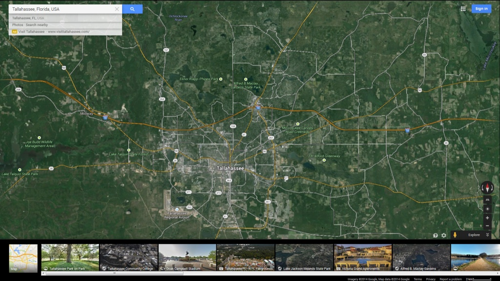Tallahassee, Florida Map - Google Maps Tallahassee Florida