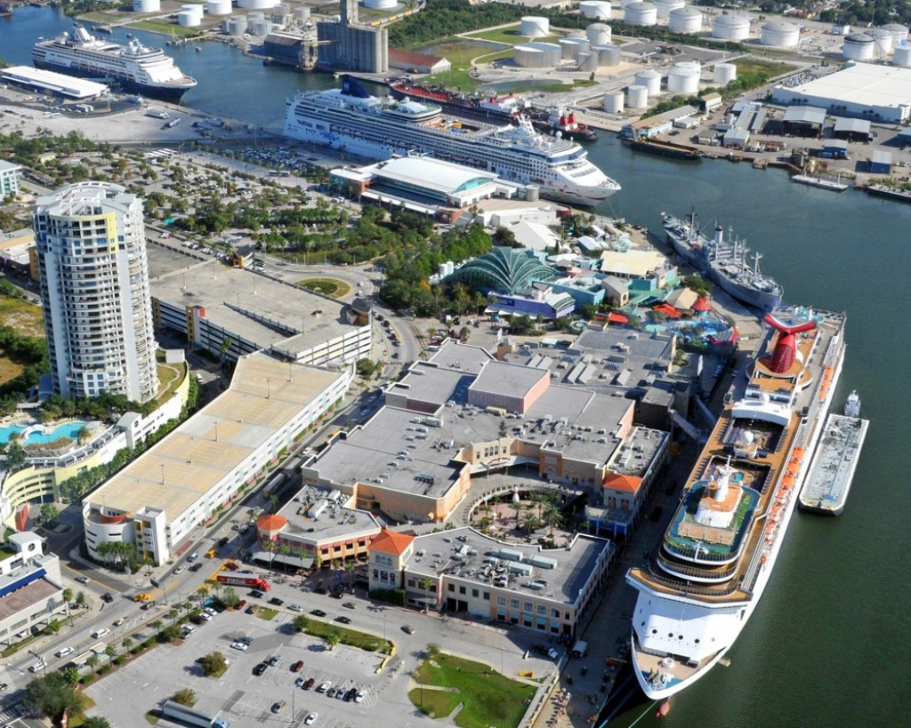 Tampa (Florida) Cruise Port Schedule | Cruisemapper - Map Of Cruise Ports In Florida