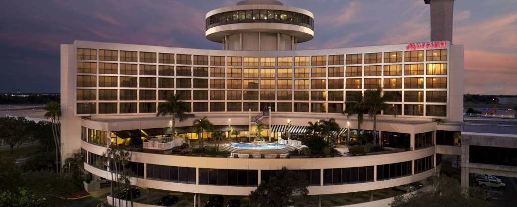 Tampa International Airport Hotel - Tpa | Tampa Airport Marriott - Tampa Florida Airport Hotels Map