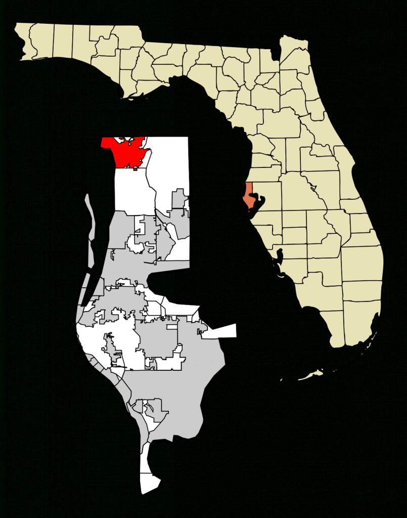 Tarpon Springs, Florida - Wikipedia - Indian Springs Florida Map