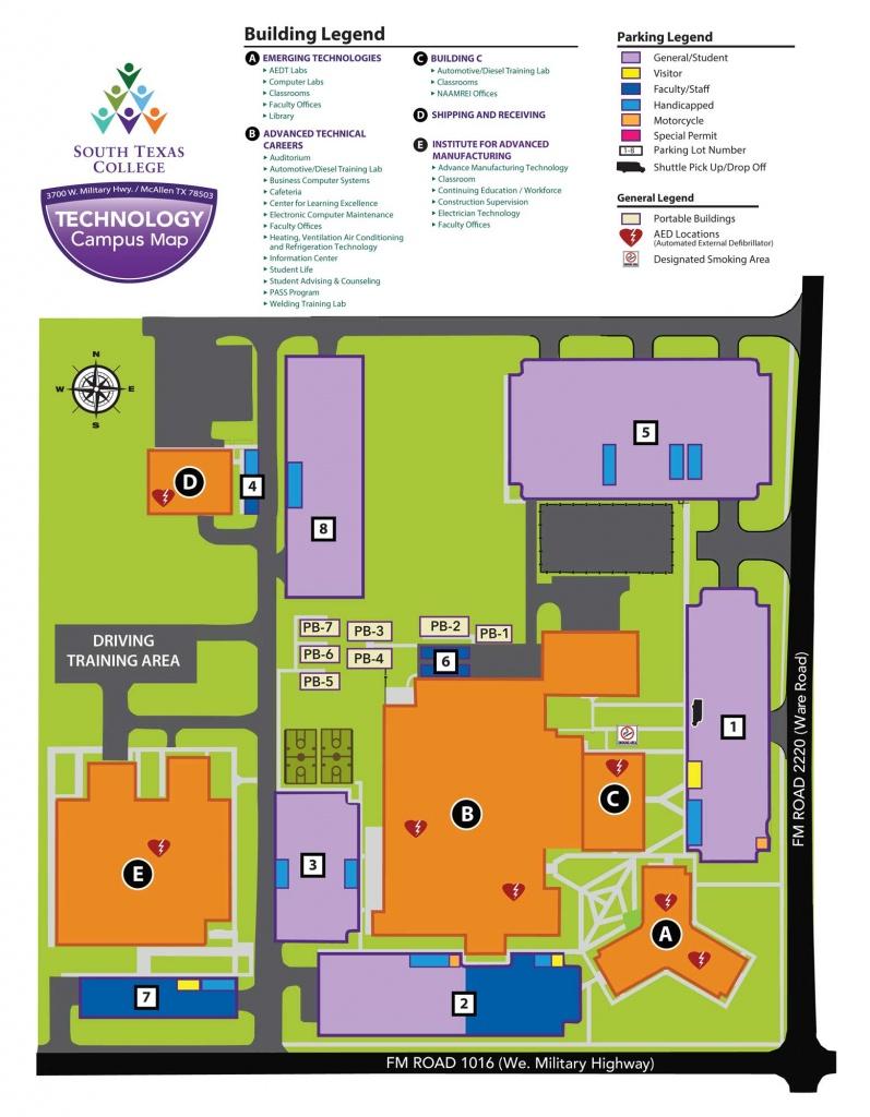 Technology Campus - Mcallen | South Texas College - South Texas College Mid Valley Campus Map