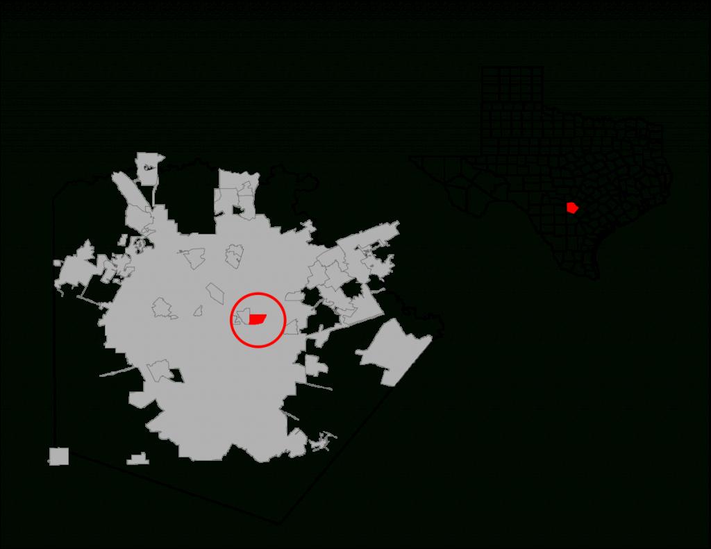 Terrell Hills, Texas - Wikipedia - Terrell Texas Map