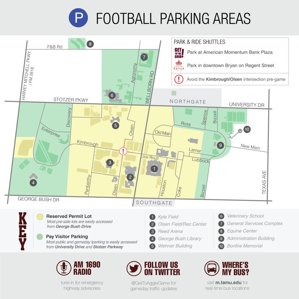 Texas A&m Football Parking Map | Business Ideas 2013 - Texas A&m Parking Lot Map