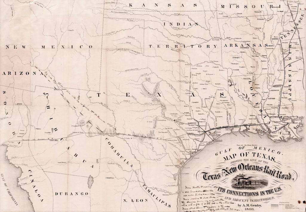 Texas And New Orleans Railroad   The Handbook Of Texas Online  Texas - Texas State Railroad Route Map