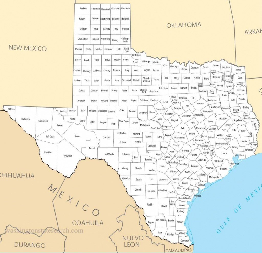 Texas Counties Map | View Our Texas State Map A Large Detailed Texas - Large Texas Map