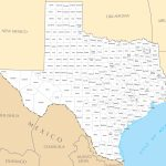Texas County Map • Mapsof   Google Maps Texas Counties