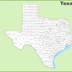 Texas County Map   Google Maps Texas Counties