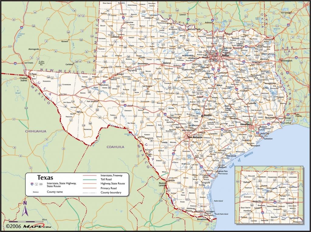 Texas County Wall Map - Maps - Texas County Wall Map