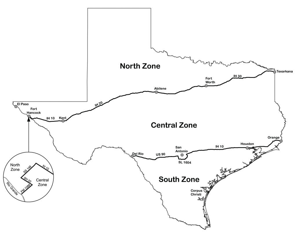 Texas Dove Hunters Association - Tpwd - Texas Hunting Map
