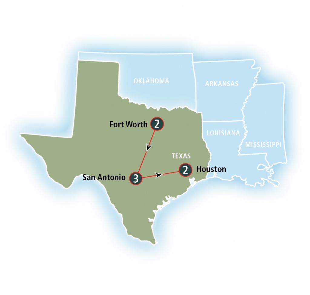 Texas Eagle | Amtrak Vacations - Texas Eagle Train Route Map