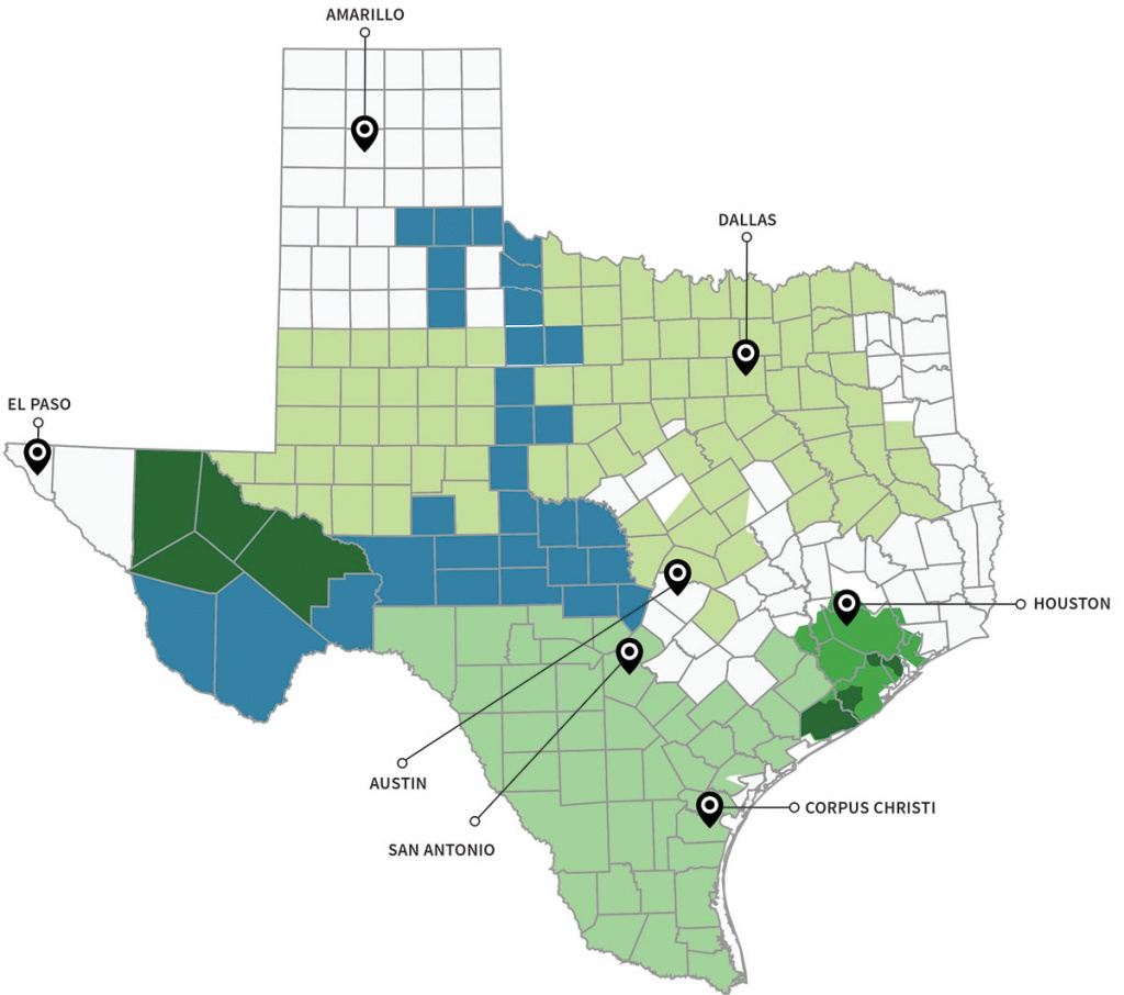 Texas Energy Deregulation Map | Electricity Deregulated Cities In Texas - Rule Texas Map
