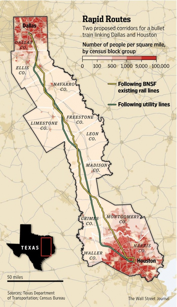Texas Group Races For High-Speed Rail | Econ | High Speed Rail, High - Texas Bullet Train Route Map