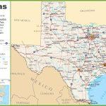 Texas Highway Map   North Texas Highway Map