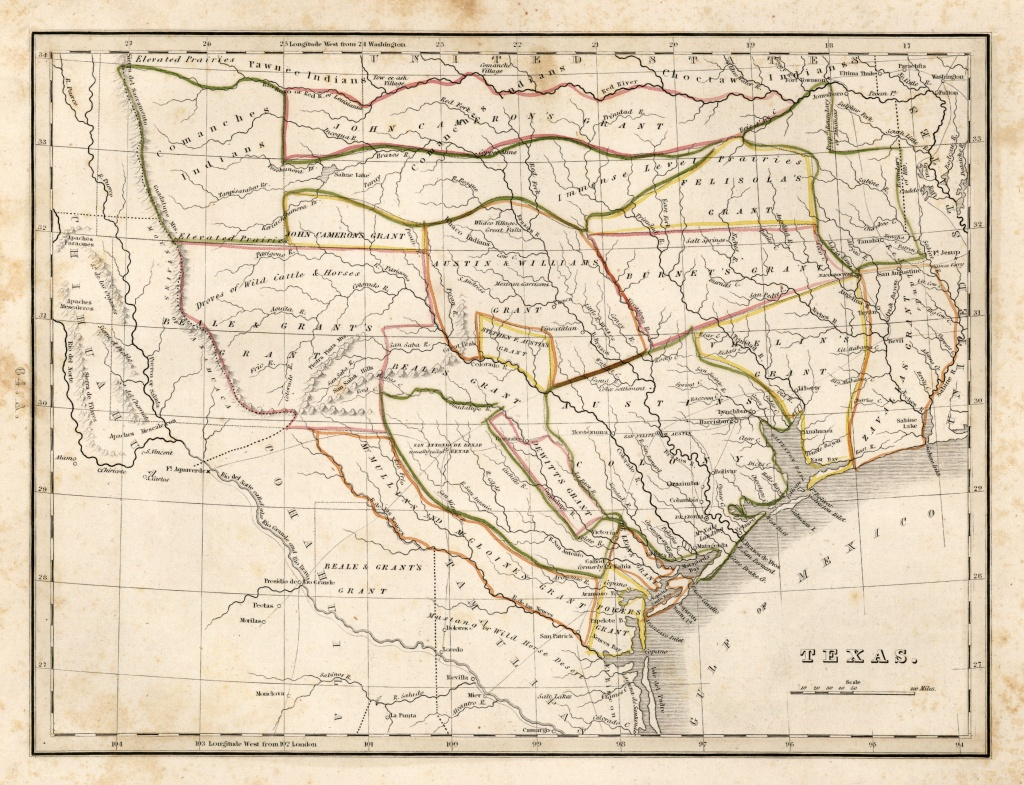 Texas Historical Maps - Perry-Castañeda Map Collection - Ut Library - Map Of Spanish Land Grants In South Texas
