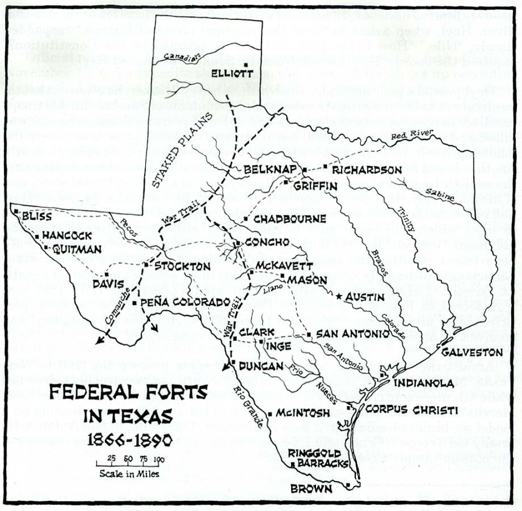 Texas Historical Maps - Perry-Castañeda Map Collection - Ut Library - Texas Trails Maps
