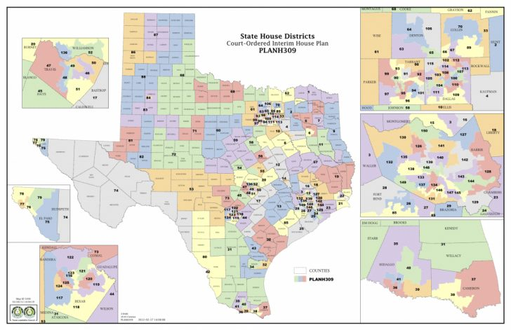 Texas House District Map