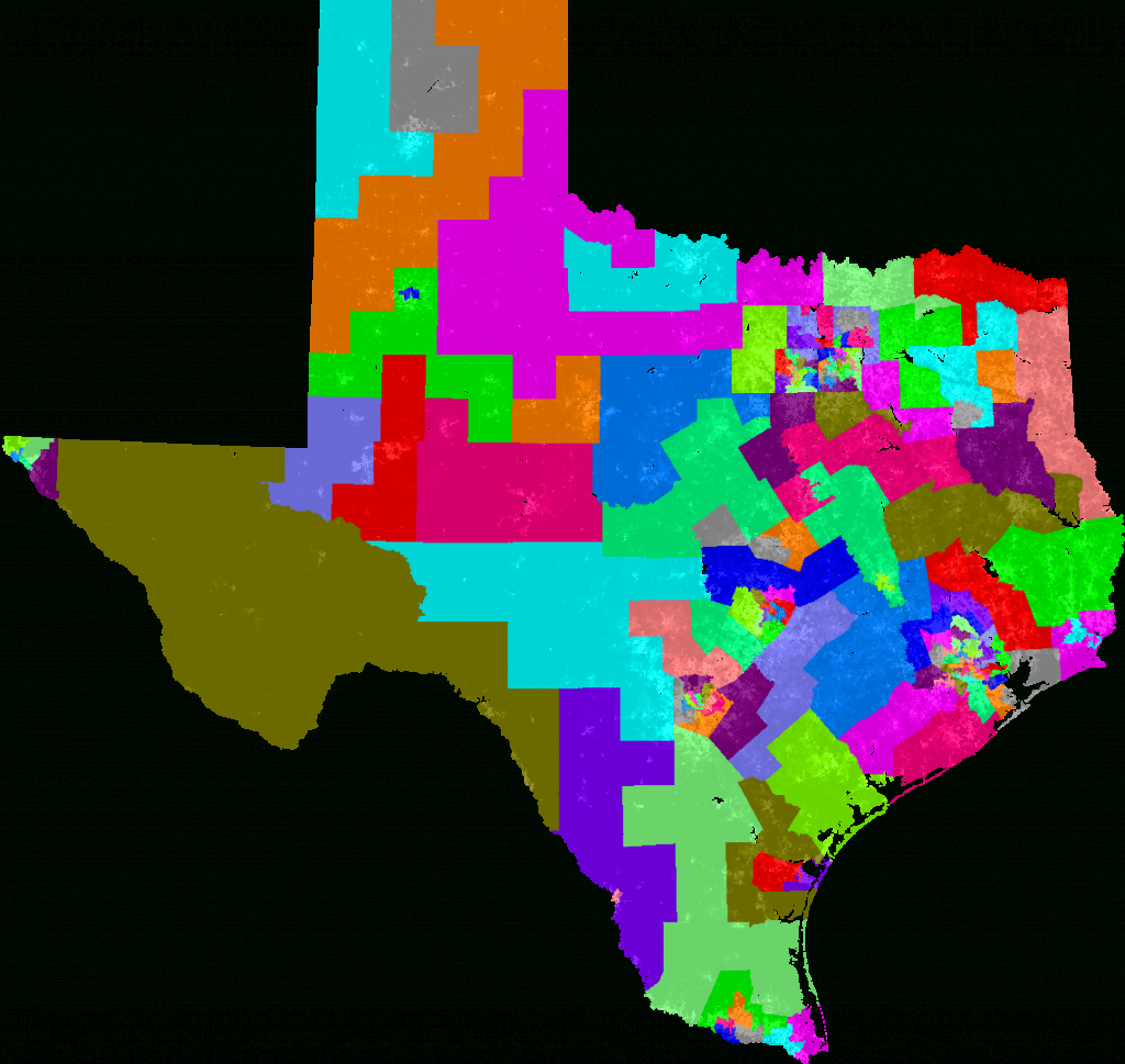 Texas House Of Representatives Redistricting - Texas House District Map