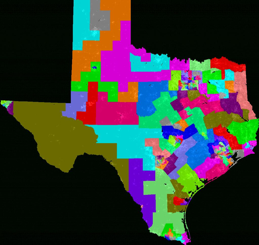 Texas House Of Representatives Redistricting - Texas State Representatives District Map