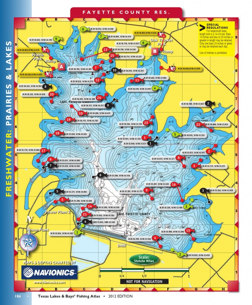 Texas Lakes And Bays Part 2Texas Fish & Game - Issuu - Texas Fishing Hot Spots Maps