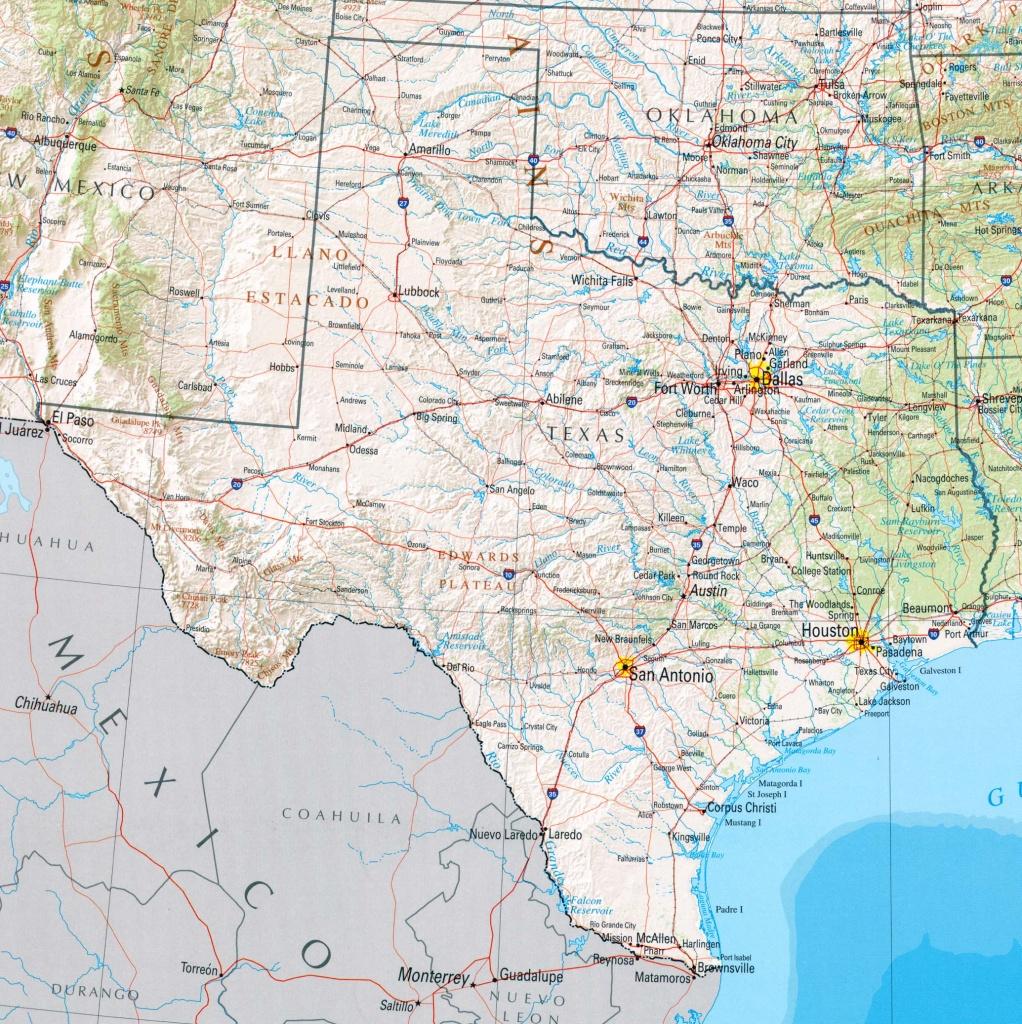 Texas Maps - Perry-Castañeda Map Collection - Ut Library Online - Google Maps Dallas Texas