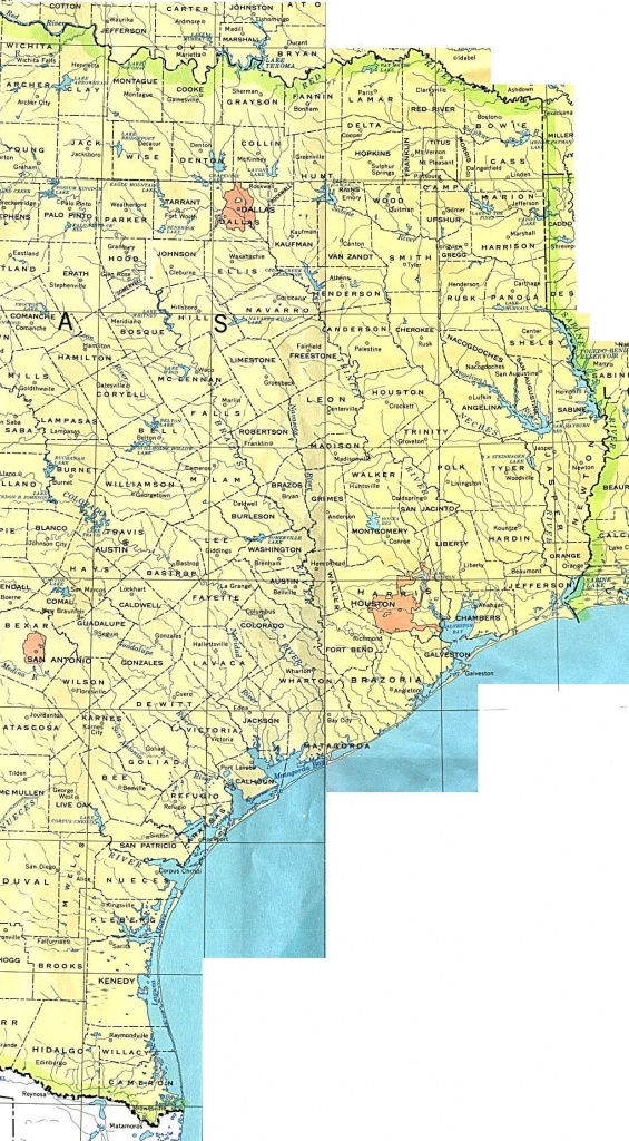 Texas Maps - Perry-Castañeda Map Collection - Ut Library Online - Map Of Central Texas Cities