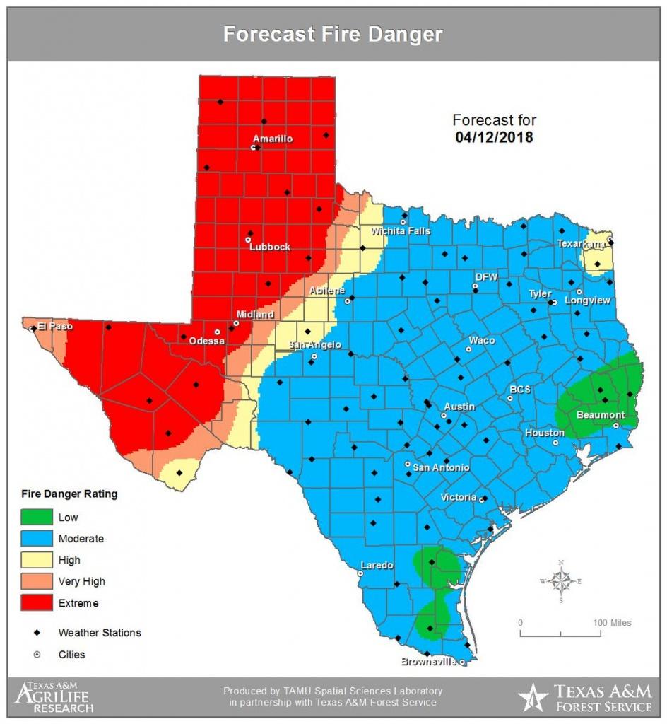 Texas | Nw Fire Blog - Texas Active Fire Map