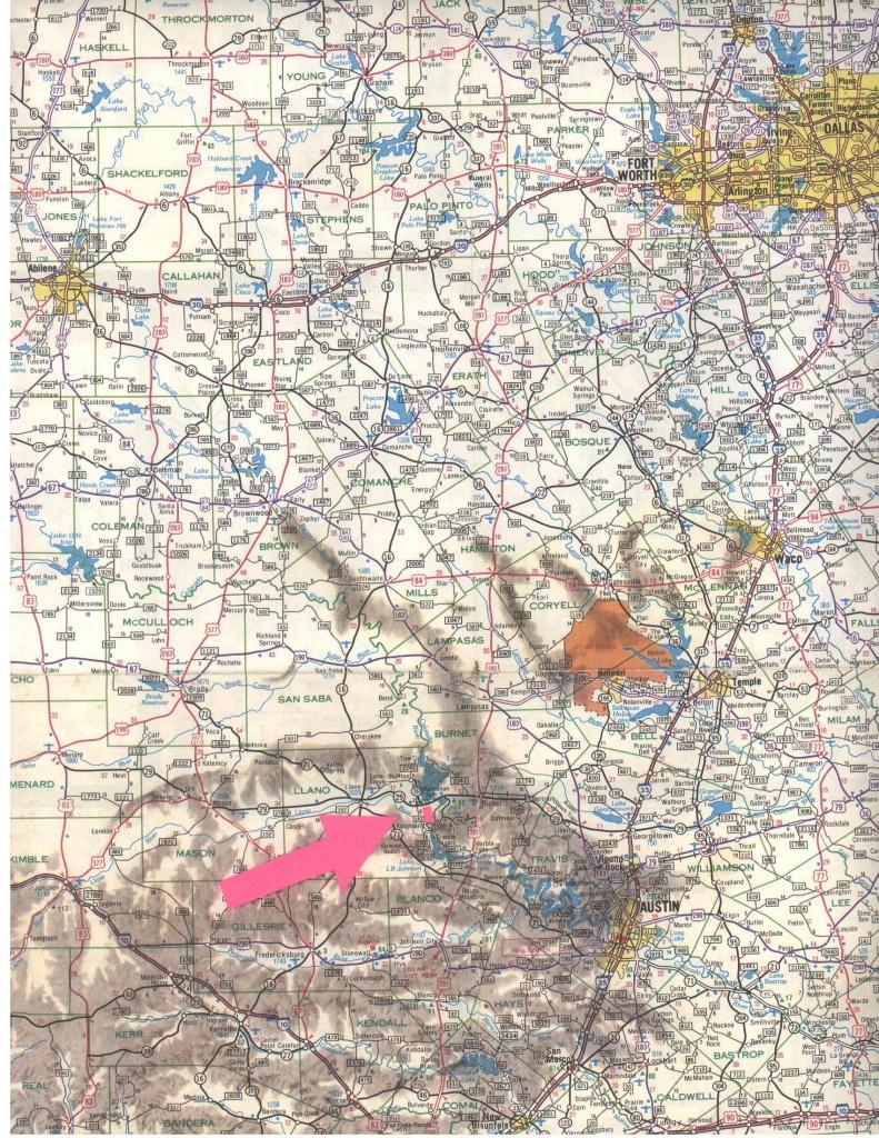Texas Road Map - Austin Texas • Mappery - Austin Texas Road Map