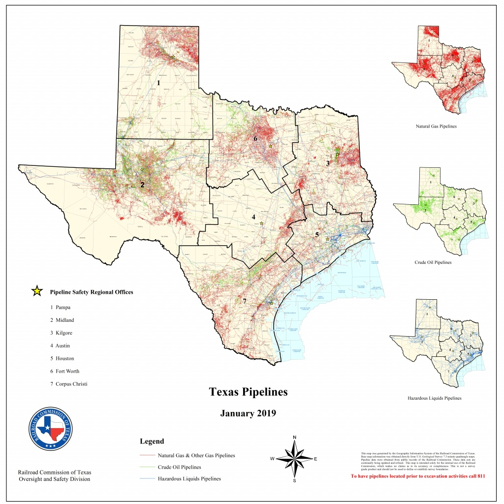 Texas Rrc - Special Map Products Available For Purchase - Pampa Texas Map
