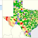 Texas School District Performance Analysis   Texas School District Map By Region