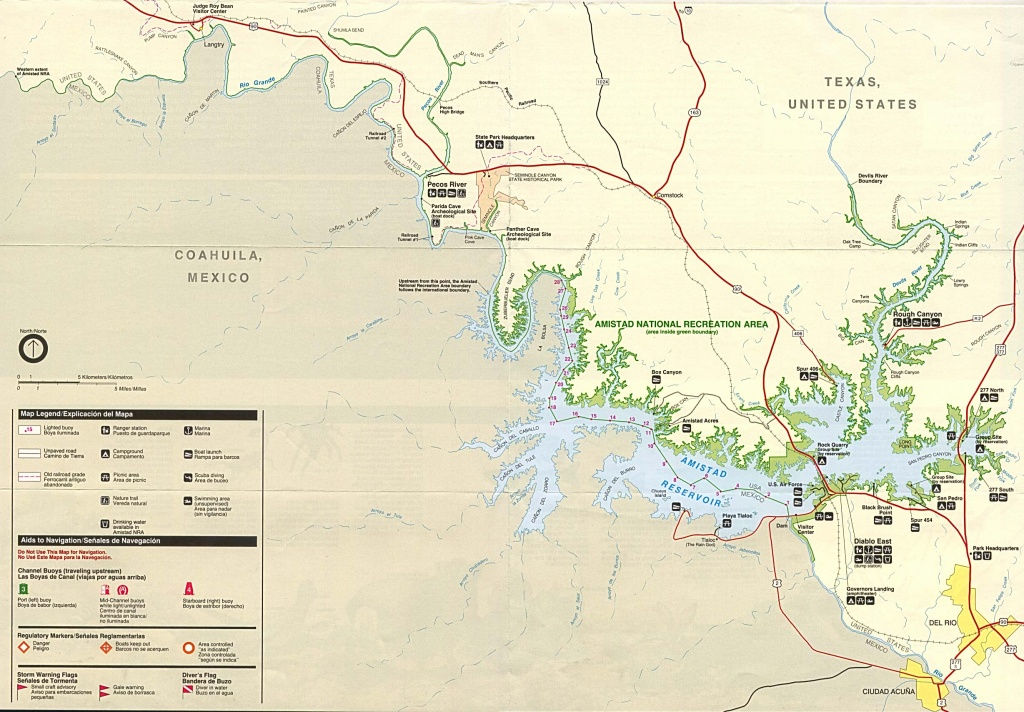 Texas State And National Park Maps - Perry-Castañeda Map Collection - Palo Duro Canyon Map Of Texas