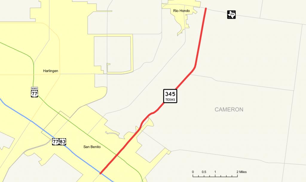 Texas State Highway 345 - Wikipedia - Google Maps Harlingen Texas