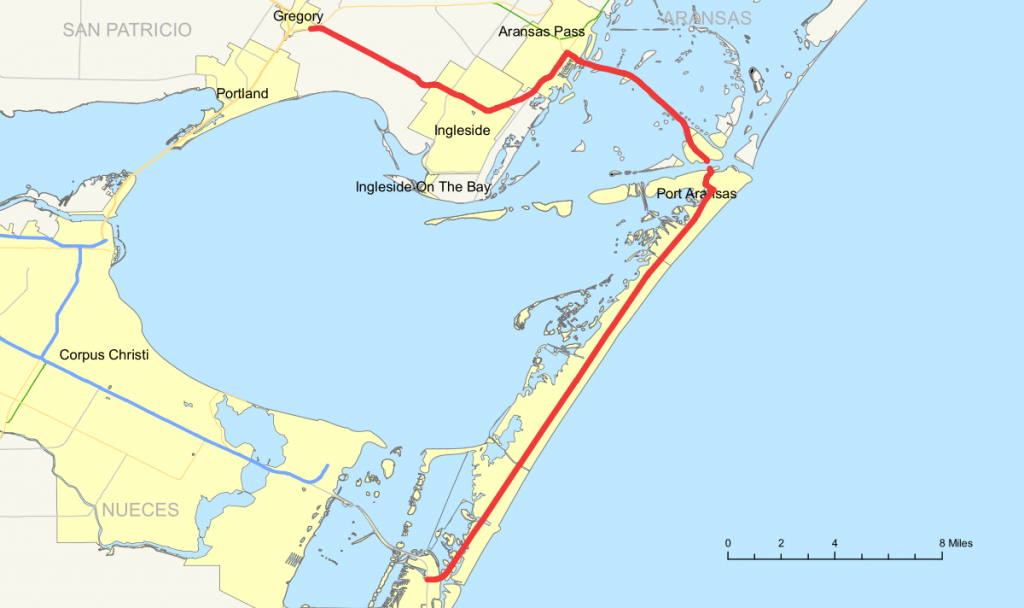 Texas State Highway 361 - Wikipedia - Map Of Port Aransas Texas Area
