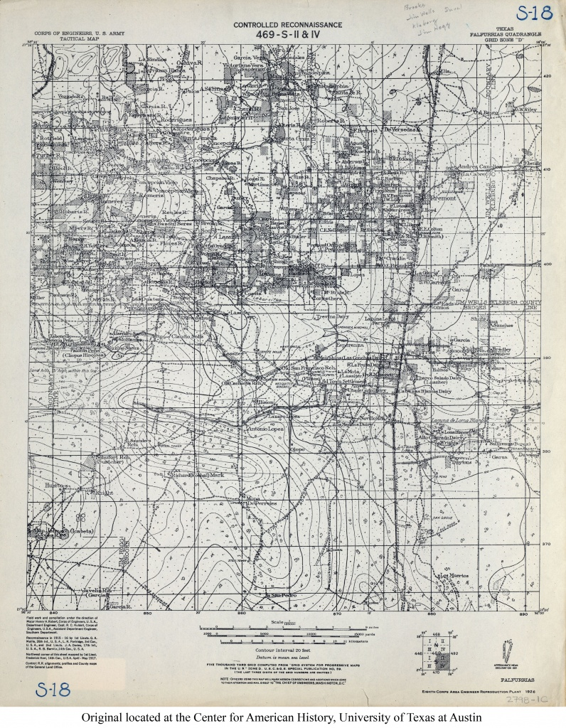Texas Topographic Maps - Perry-Castañeda Map Collection - Ut Library - Fort Hancock Texas Map