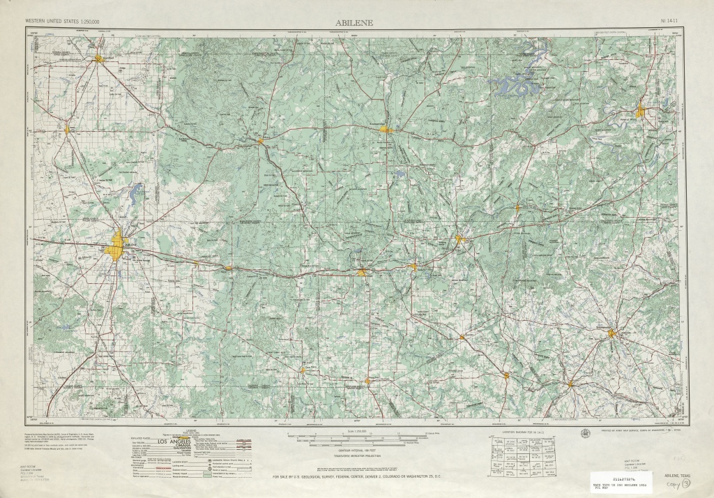 Texas Topographic Maps - Perry-Castañeda Map Collection - Ut Library - Texas Elevation Map By County