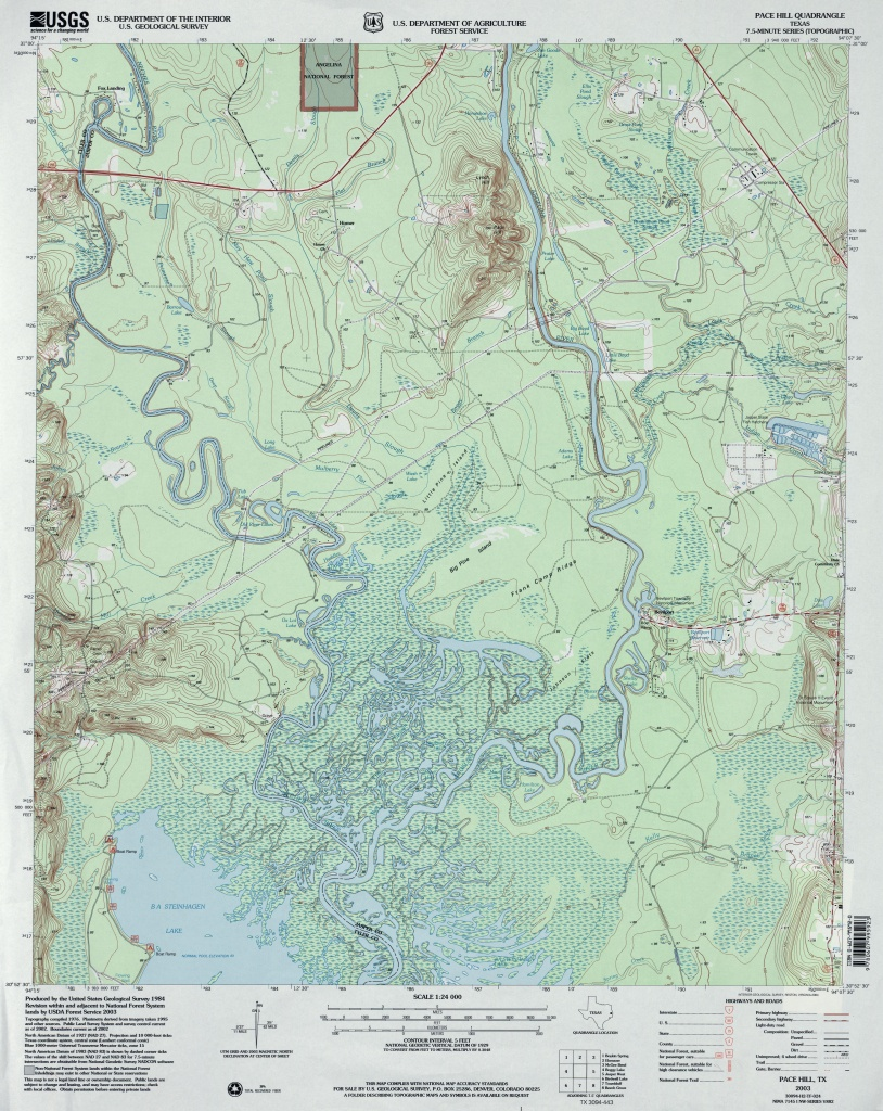 Texas Topographic Maps - Perry-Castañeda Map Collection - Ut Library - Topographical Map Of Texas Hill Country