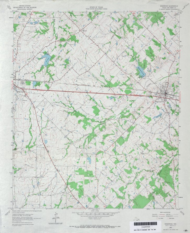 Van Zandt County Texas Map