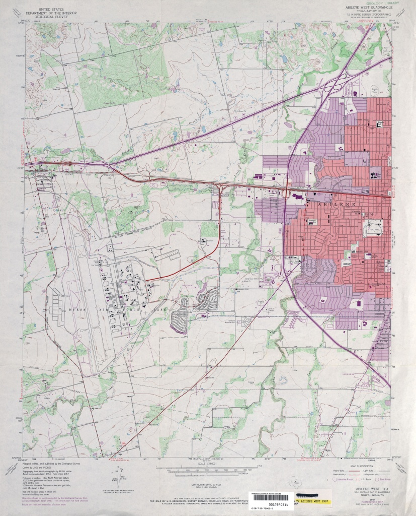 Texas Topographic Maps - Perry-Castañeda Map Collection - Ut Library - Winnie Texas Map