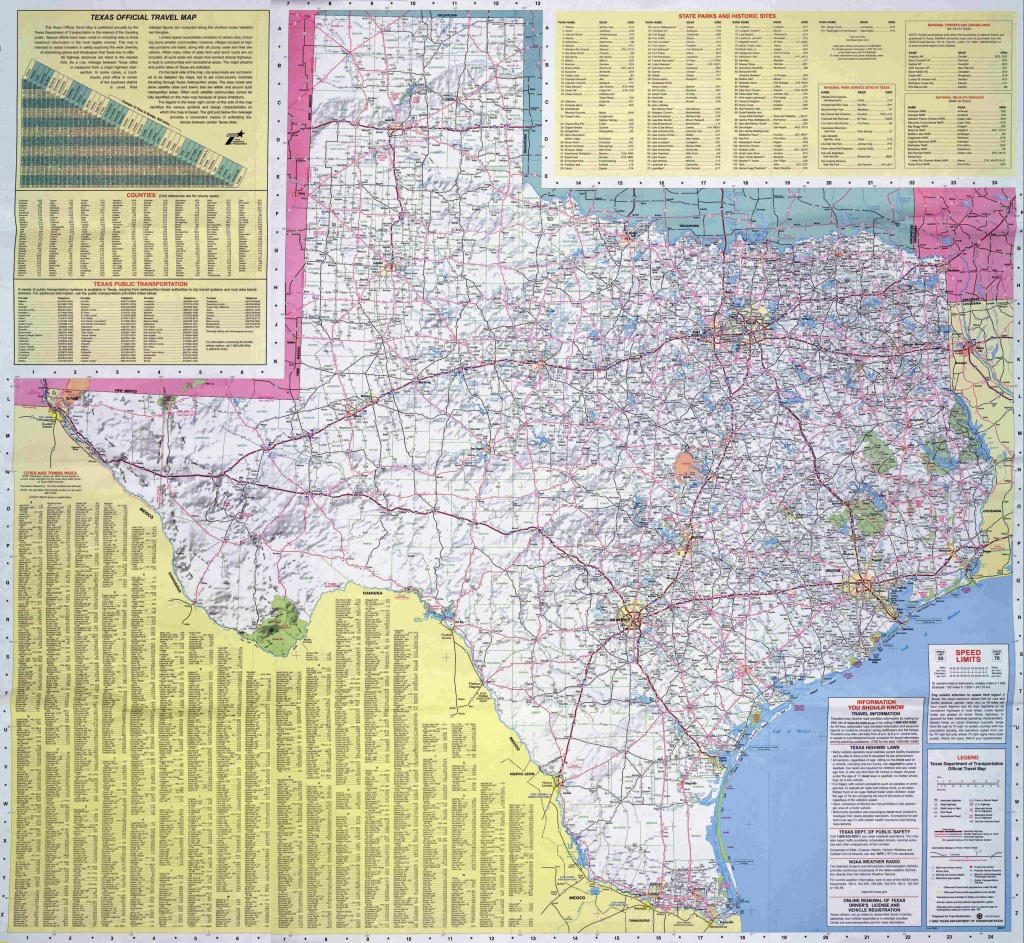 Texas Travel Maps - Travel Texas Map