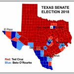 Texas Vs. The World: Beto, Cruz, And Planetary Civilization In The   Map Beto For Texas