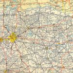 Texasfreeway > Statewide > Historic Information > Old Road Maps   North Texas Highway Map