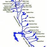 Text   California Waterways Map