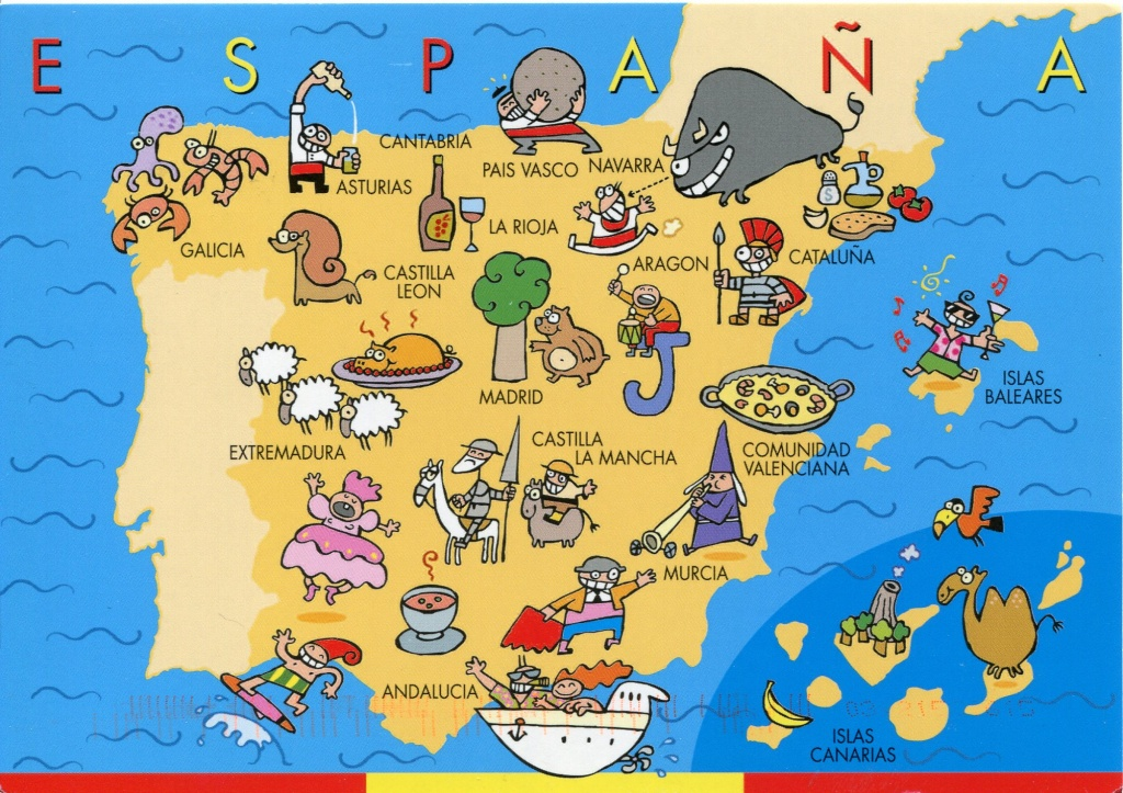 The Best Map Of Spain - Spain Traveller - Printable Map Of Spain Pdf